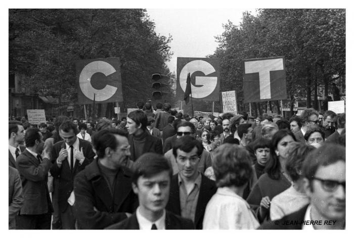 13 mai 1968 - Manifestation unitaire - CGT - 43.13-mai-1968-manifestation-unitaire.J-P.-Rey.jpg